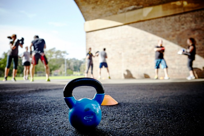 Kettlebell Boxing Outdoor Training
